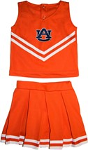 "Auburn Tigers ""AU"" 2 Piece Toddler Cheerleader Dress"
