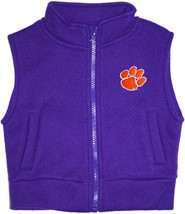 Clemson Tigers Polar Fleece Vest