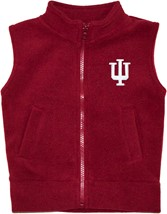 Indiana Hoosiers Polar Fleece Vest