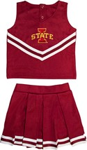 Iowa State Cyclones 2 Piece Toddler Cheerleader Dress