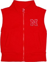 Nebraska Cornhuskers Block N Polar Fleece Vest
