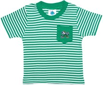 Notre Dame Fighting Irish Short Sleeve Striped Pocket Tee