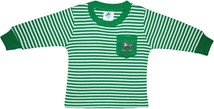 Notre Dame Fighting Irish Long Sleeve Striped Pocket Tee