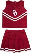 Oklahoma Sooners 2 Piece Toddler Cheerleader Dress