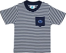 Penn State Nittany Lions Short Sleeve Striped Pocket Tee